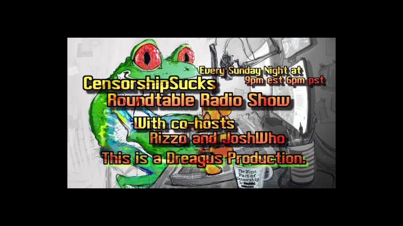 CENSORSHIPSUCKS ROUND TABLE RADIO SHOW 2121 raw on 03-Jan-21-19:39:35