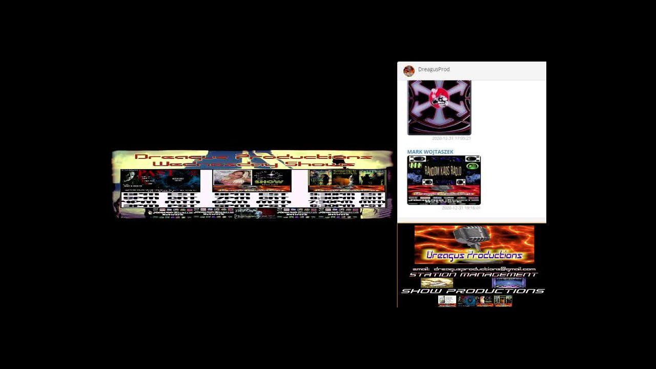 DREAGUS TUNEZ NEW YEARS MUSIC SHOW on 01-Jan-21-07:00:16