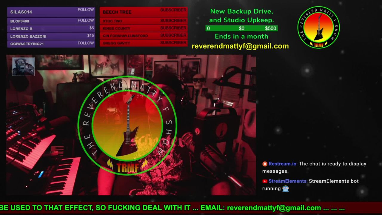 The Reverend Matty F Show on 04-May-21-12:51:09