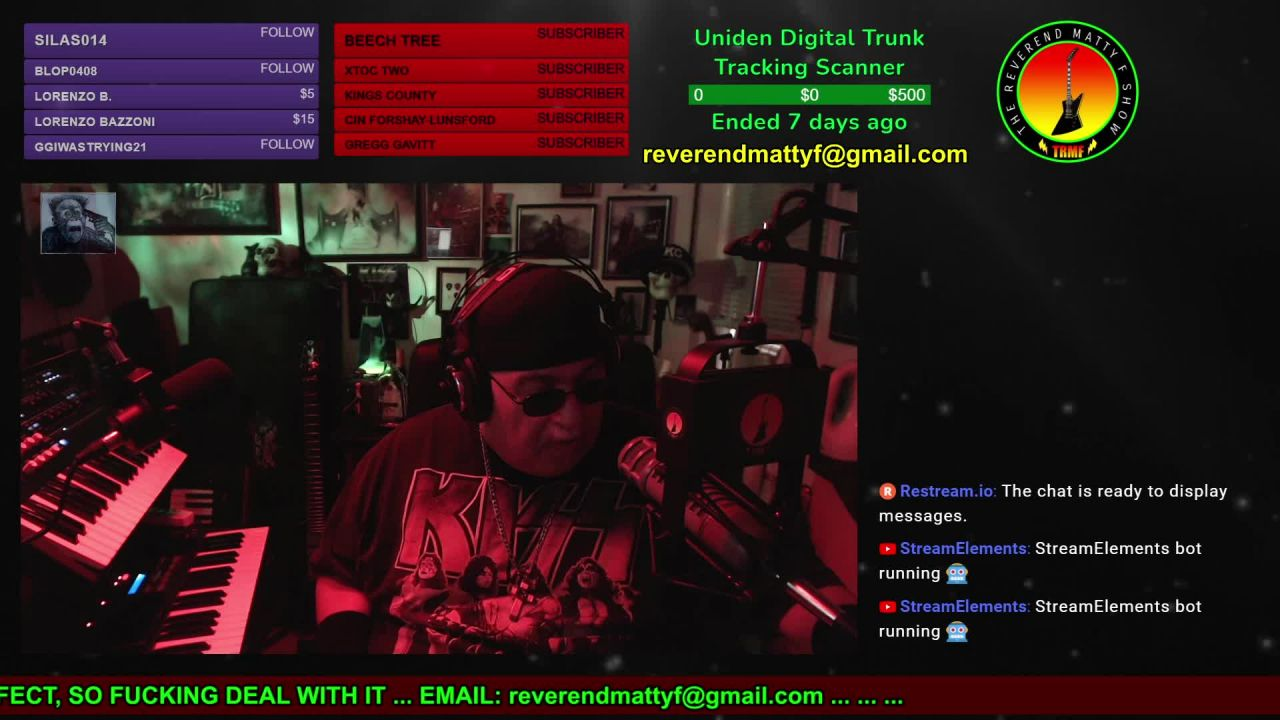 The Reverend Matty F Show on 22-Apr-21-12:50:57