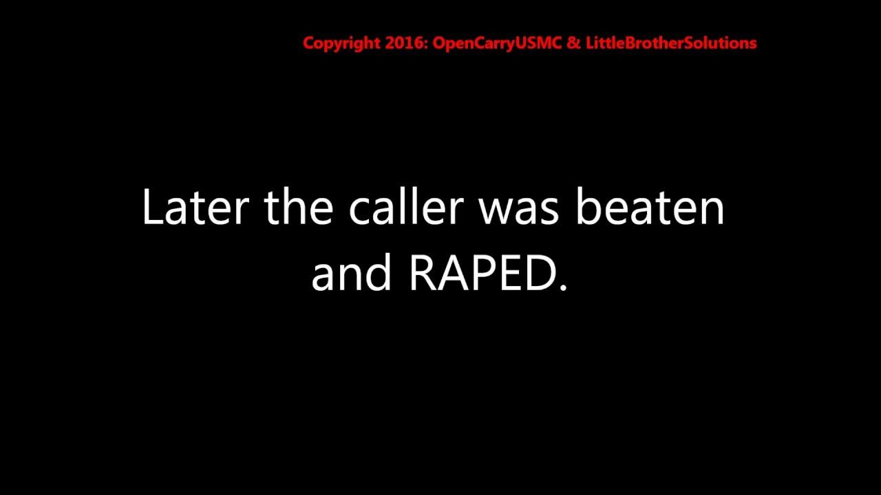 911 tape: No police available when woman calls 911.she ends up raped