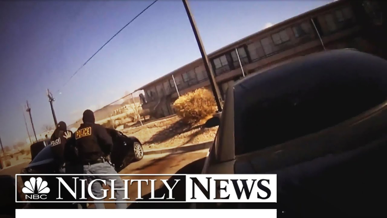 Video Shows Lieutenant Mistakenly Shoot His Own Undercover Officer | NBC Nightly News