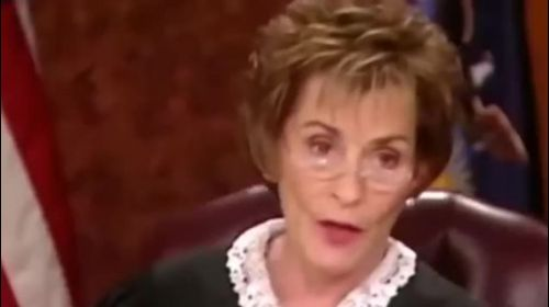 Judge Judy Has A Crazy Person Come In--- You Won't Believe What He Does