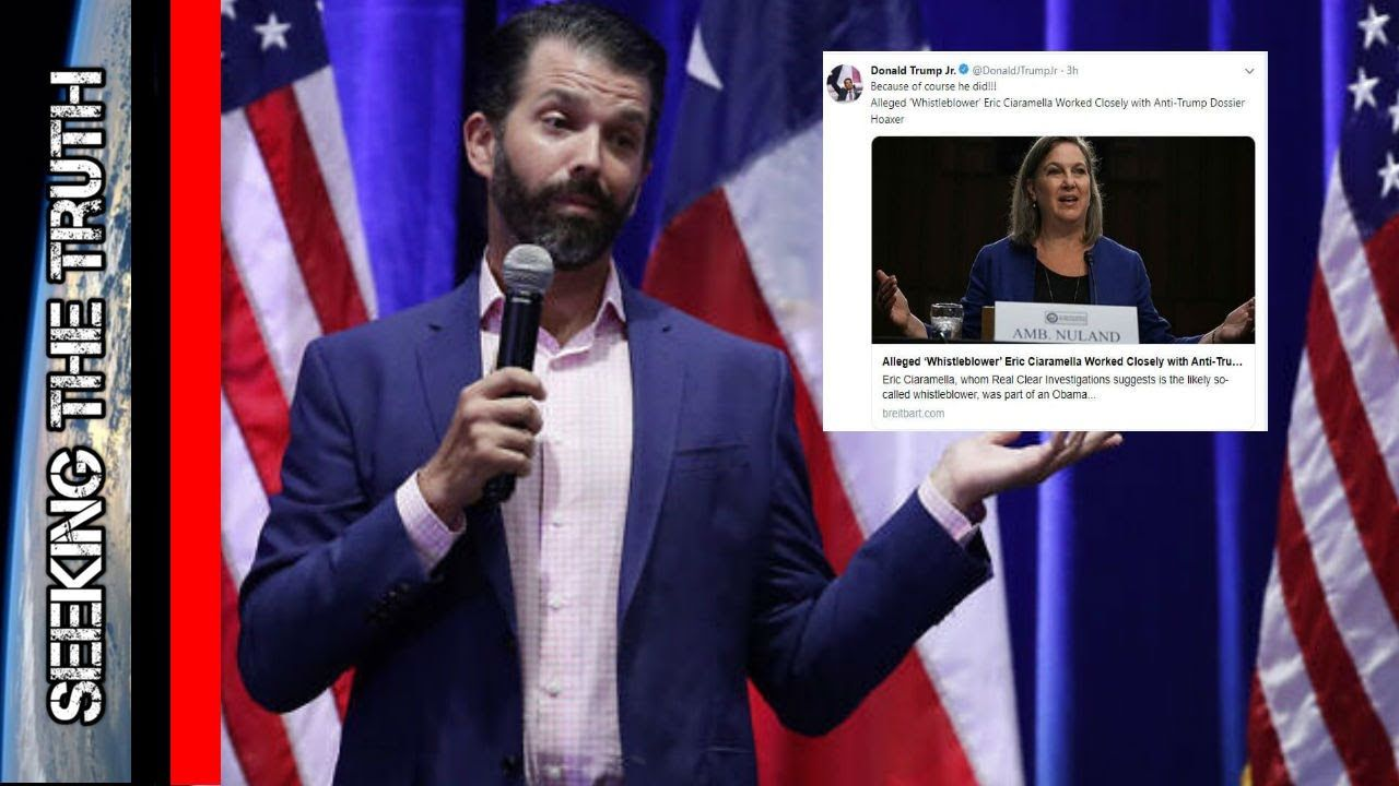 D Trump Jr. Tweeted the Whistleblowers name and the Left is Freaking Out