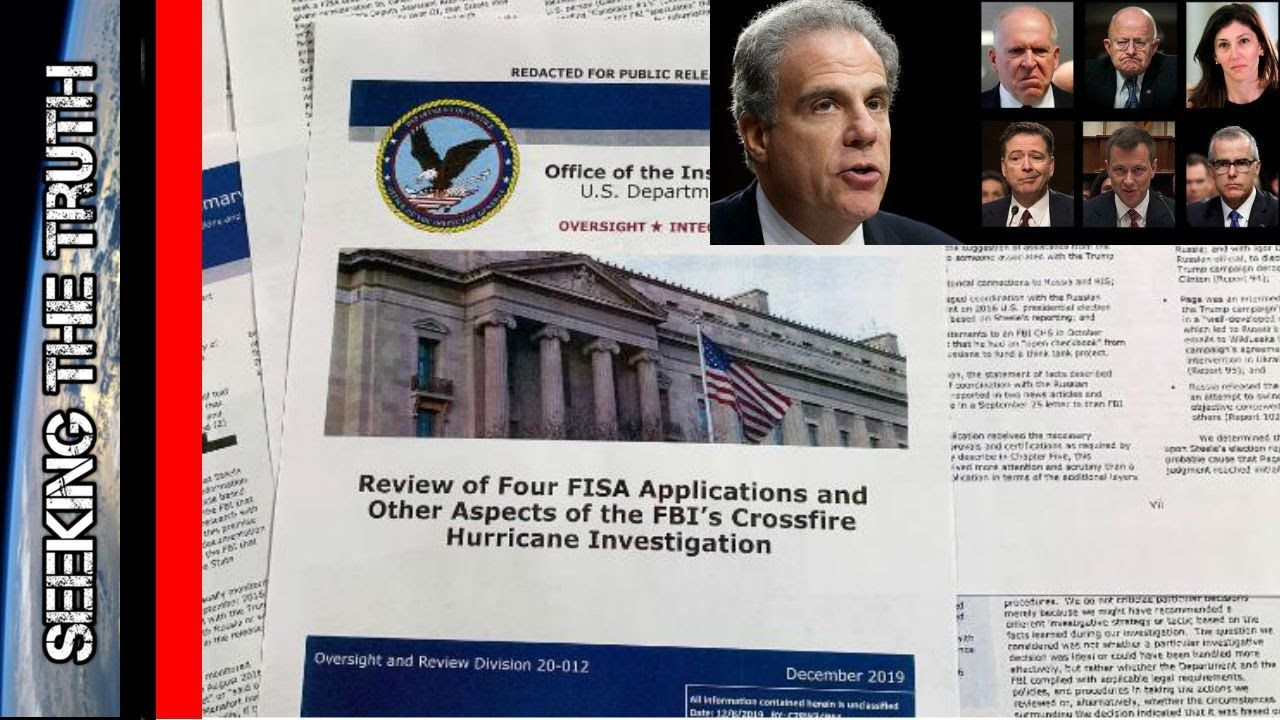 IG Report Shows 17 Significant Inaccuracies & Attempted Removal of a Presidency