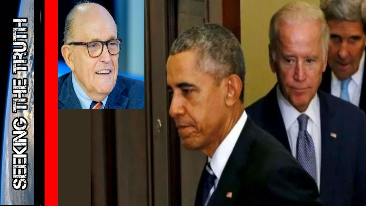 Giuliani Bombshell: Billions Laundered, Extortion and Bribery by the Obama Administration