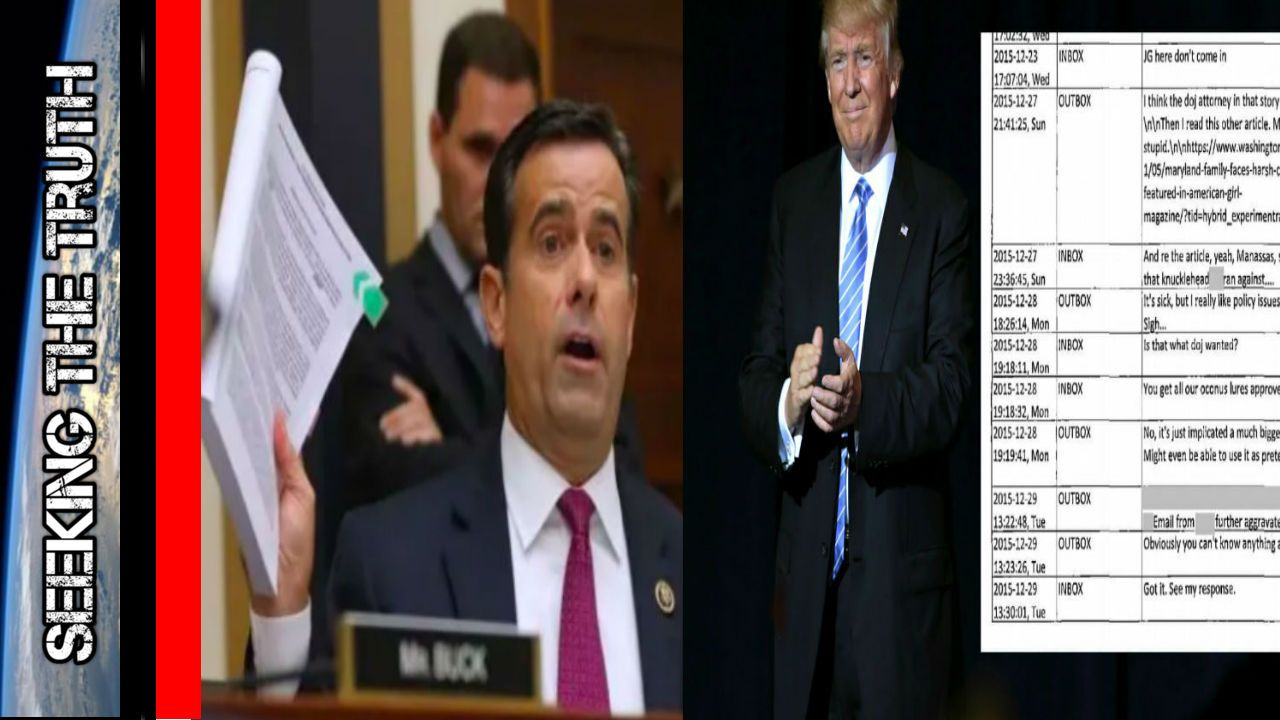Ratcliffe Confirms Obama Spied on the Trump Team since 2015
