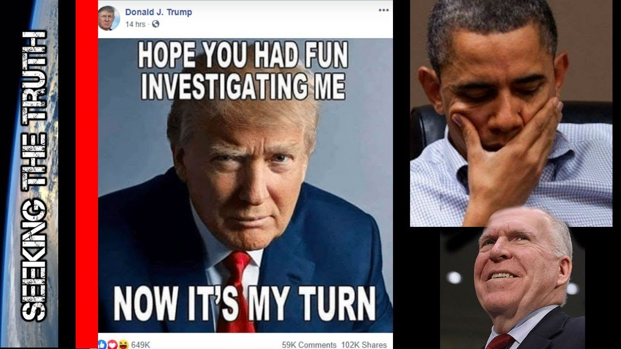 Trump Fires Warning Shot at Obama - Brennan hid Intel about Russia Wanting Hillary to Win