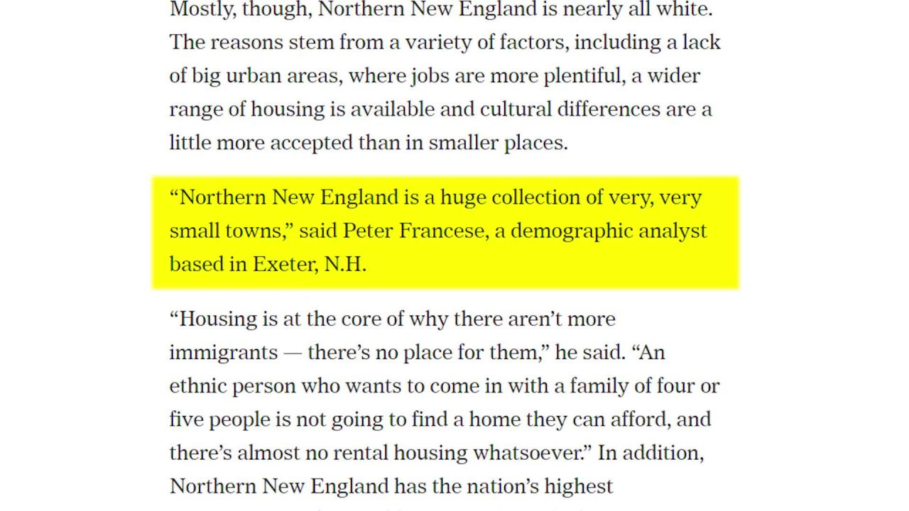 New England Is Mostly White.. And That's A Problem | American Krogan