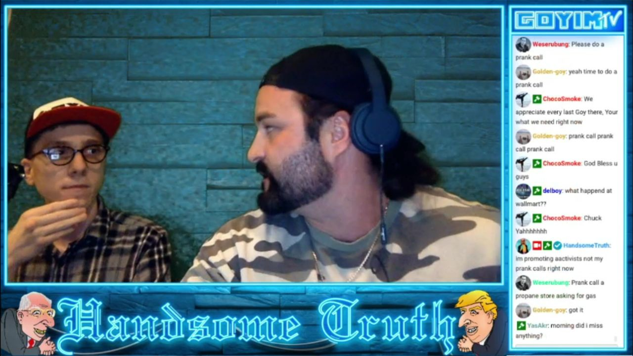 Handsome Truth speaks with ChuckThemClouds On The