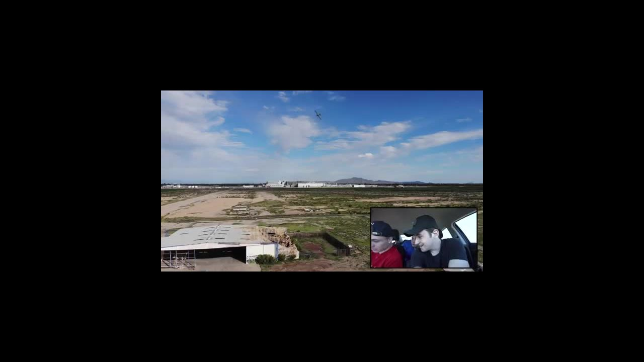 you will not believe what my drone spotted in this abandoned haunted airport -plane crash site-