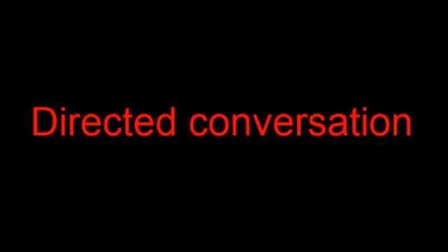 government run Gang staking program - Directed conversation