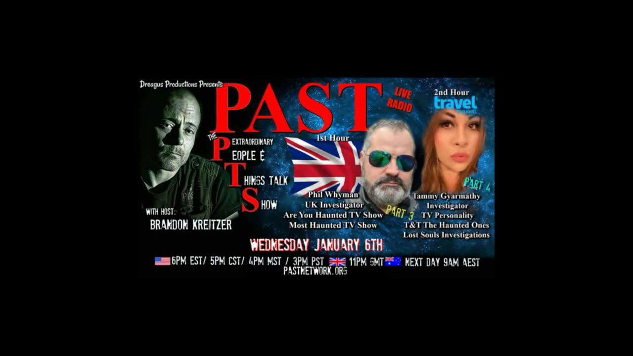 PAST PTS RADIO SHOW-PHIL WHYMAN AND TAMMY GYARMATHY