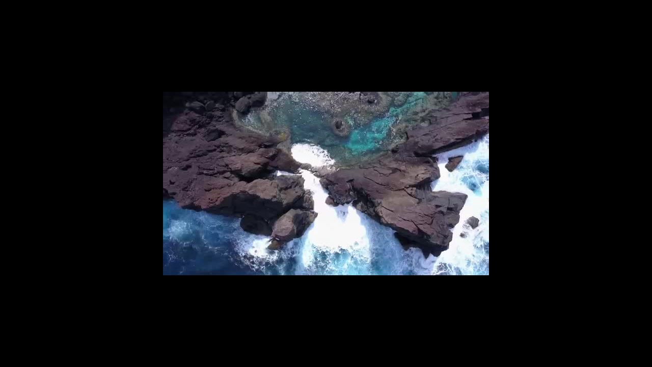 Exploring Pitcairn Island by Drone