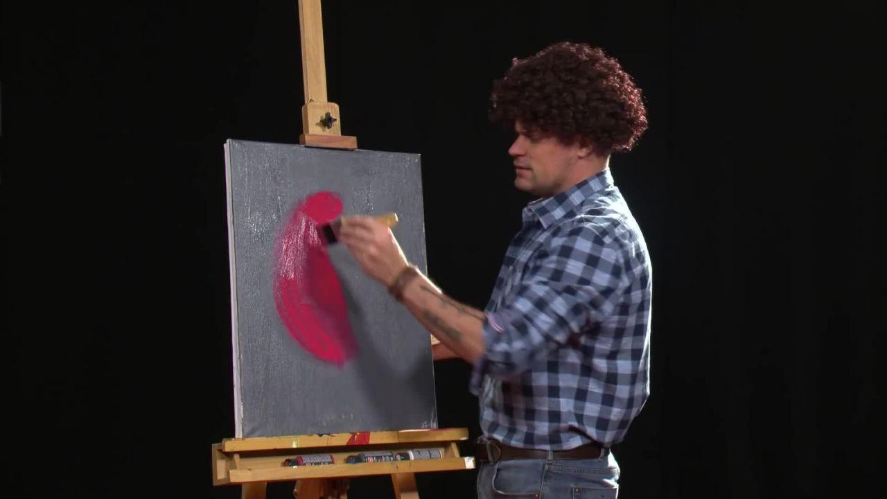 John Ross How to paint like a Coke a Cola employee
