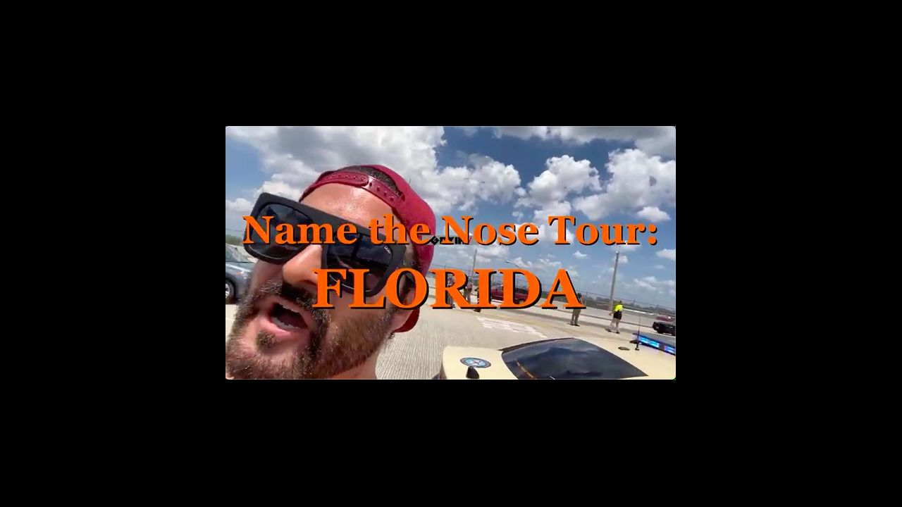 NAME THE NOSE TOUR FLORIDA ! BANNER DROP