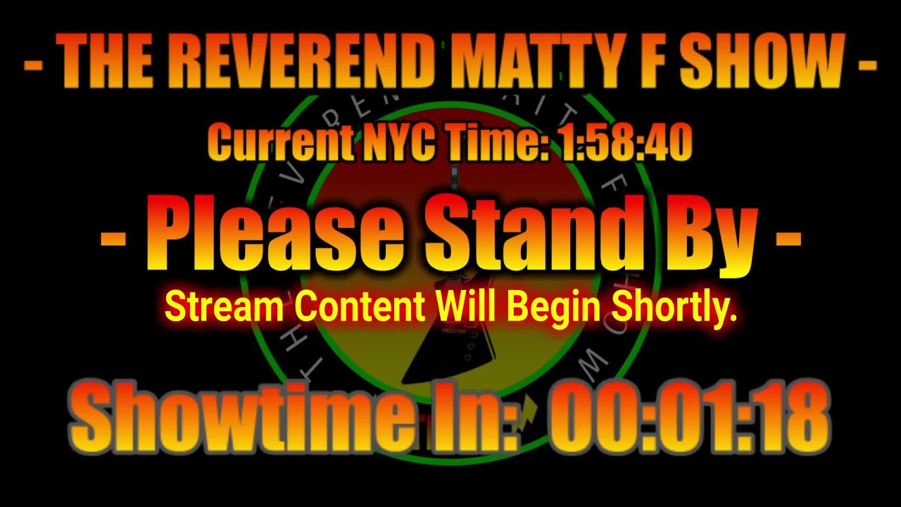 The Reverend Matty F Show on 13-May-21-12:48:42