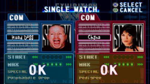 WWF Smackdown! Road Dogg vs Chyna