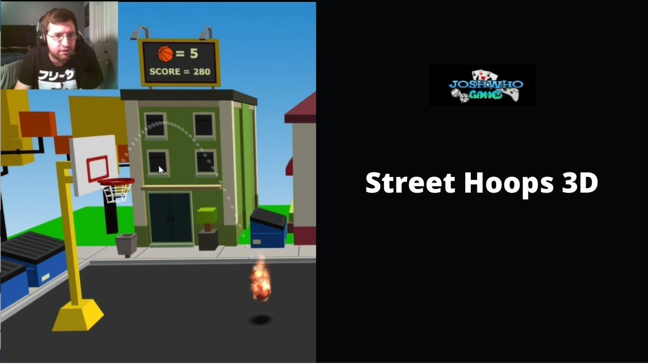 Street Hoops 3D (I'M LIKE STEVE NASH OUT HERE!!)
